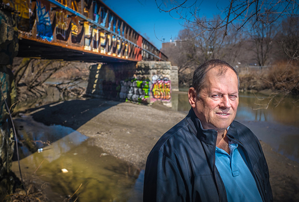 At a low point in his life, Mike Creek spent one night in a Toronto men's shelter and found conditions so terrible he never went back. Instead, he slept in the Don Valley. Now Mike owns a condo and is a convincing anti-poverty activist with a job at Working for Change.