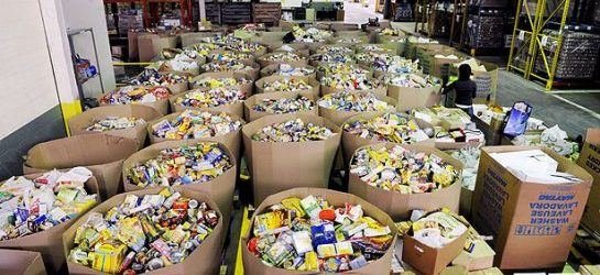 daily bread food bank drive